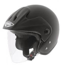 Motoprilba UVEX JET 120 čierna metalíza